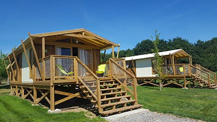 Lodge Camping Kervallon