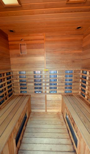 Sauna Facilities Kervallon